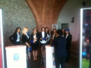 hostess casa azzurri gazzetta italia