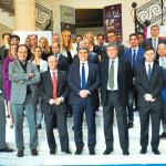 Foto di gruppo all'Italian Business mixer al Bel8, Varsavia